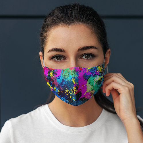 Face Mask Color Abstract