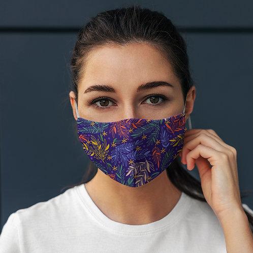 Face Mask Multicolor Leafs