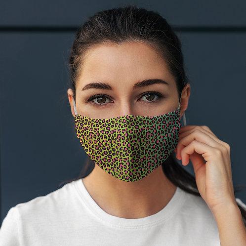 Face Mask Leopard Print Tropical