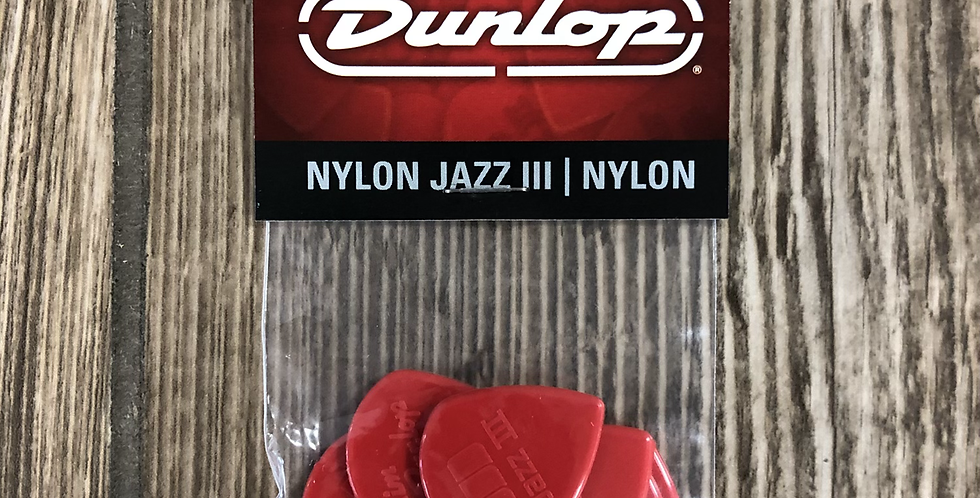 Dunlop Jazz III Nylon Picks