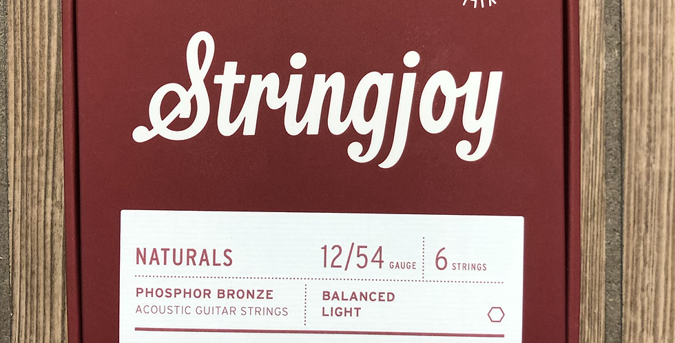 Stringjoy Naturals Phos Bronze Acoustic Strings