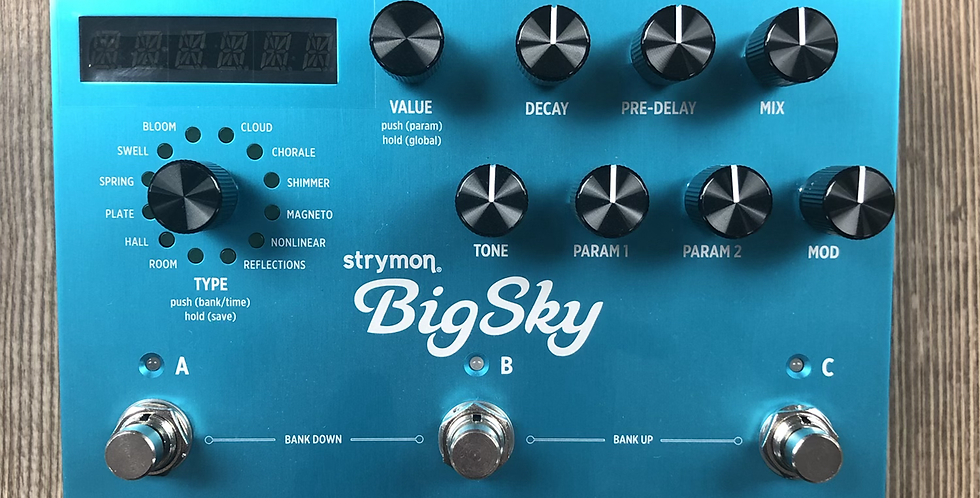 Strymon Big Sky Reverb