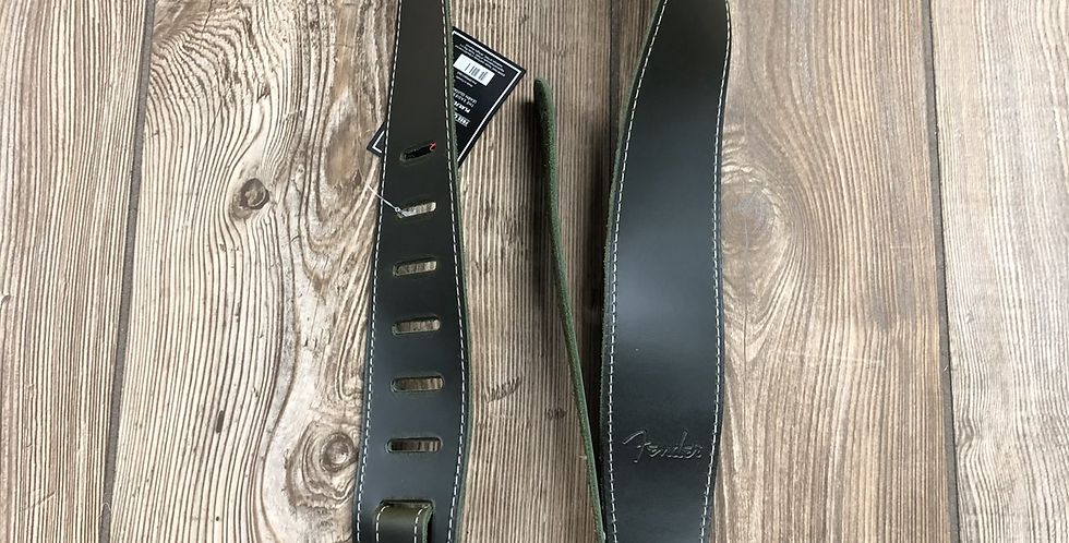 Fender Leather Strap, Green