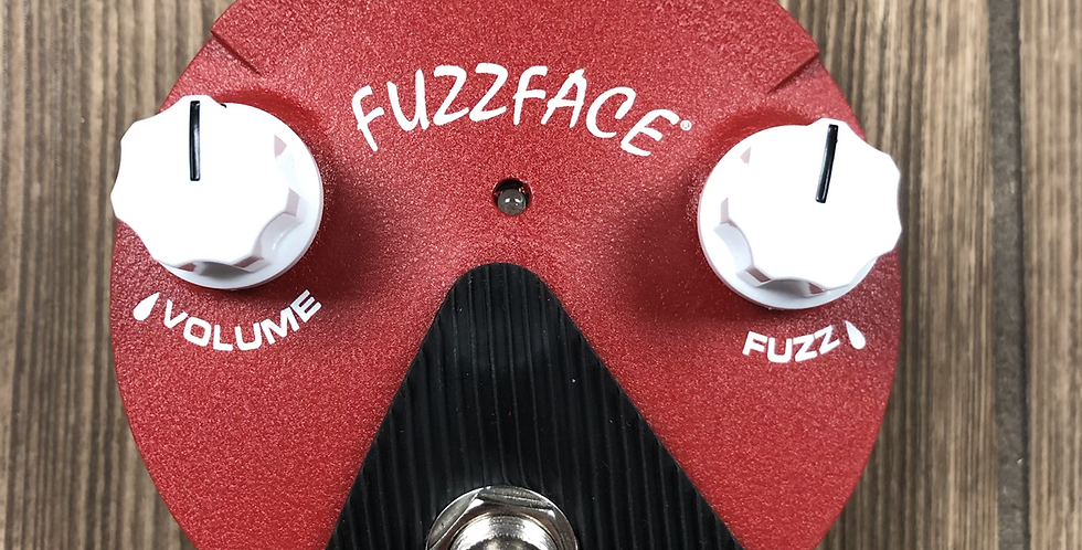 "Dunlop FFM6 ""band of gypsys"" Hendrix Fuzz Face"
