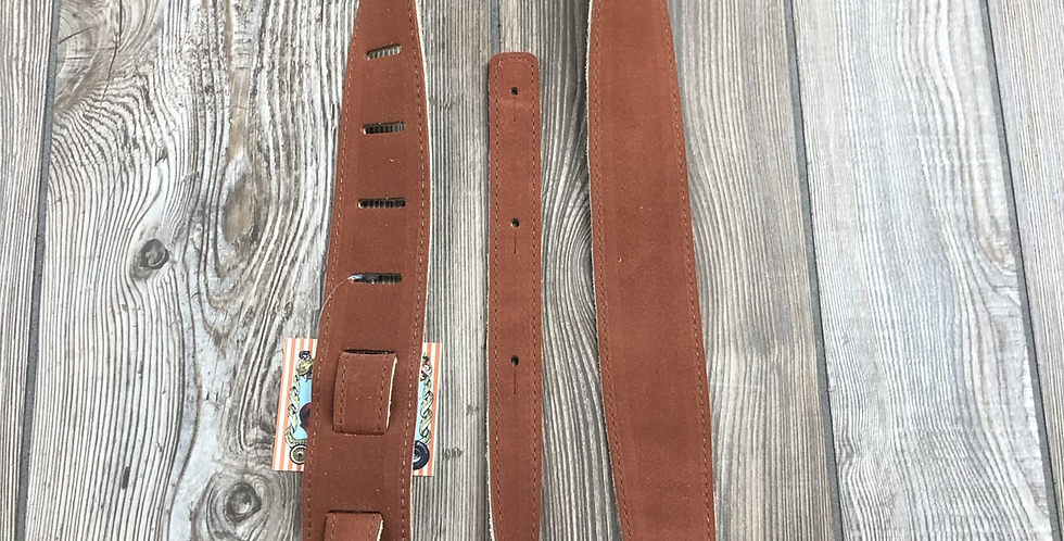 Leather Strap, Rust