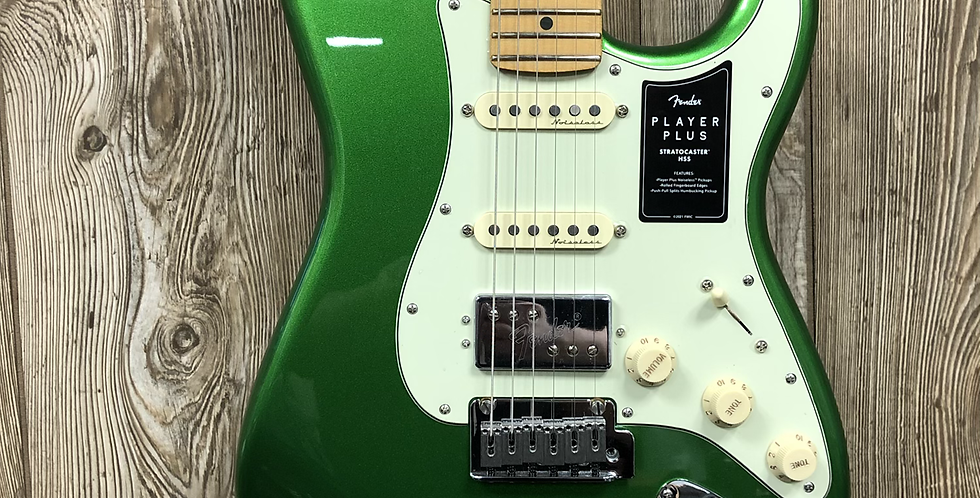 Fender Player Plus Strat, HSS, MN, CMJ