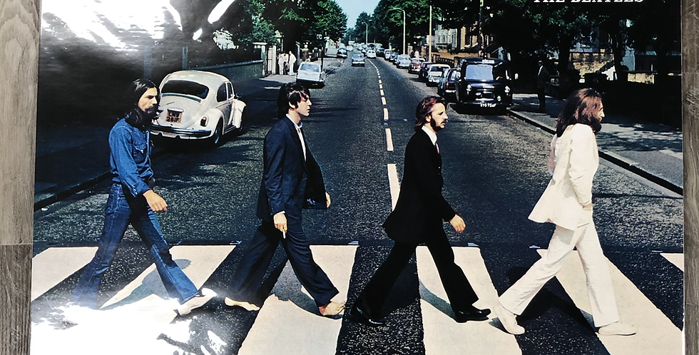 """Beatles """"Abbey Road"""" Poster"""