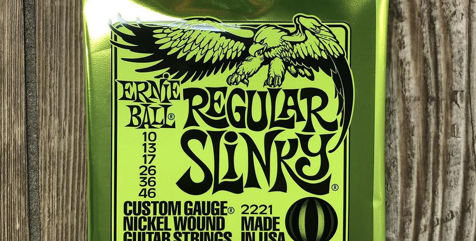 Ernie Ball Electric Guitar Slinky Strings