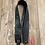 Thumbnail: Tooled Leather Strap, Black