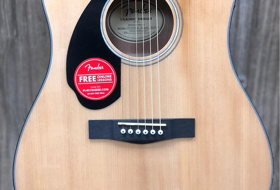 Fender CD60CE Lefty
