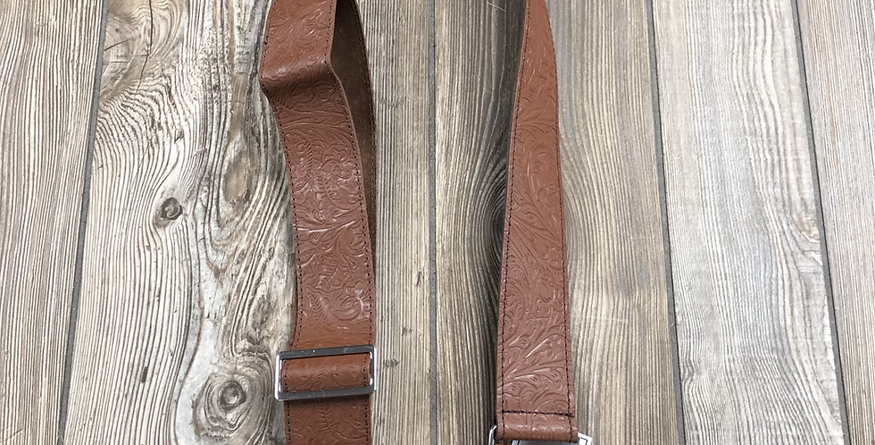 Fender Tooled Leather Strap