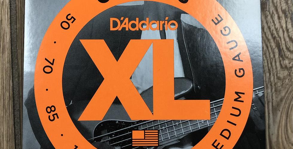 D'addario Flatwound Bass Strings