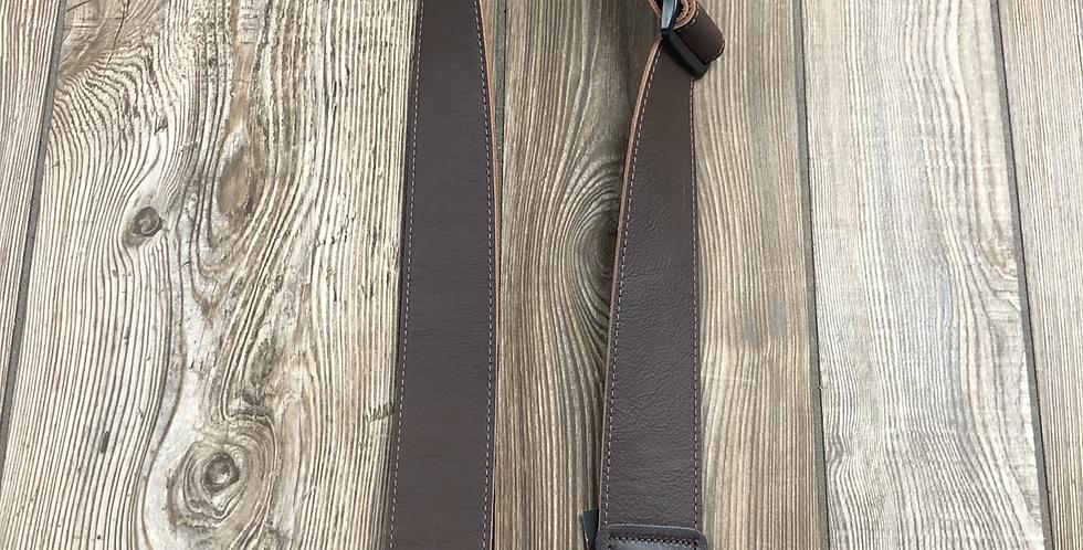 Ernie Ball Leather Strap, Brown