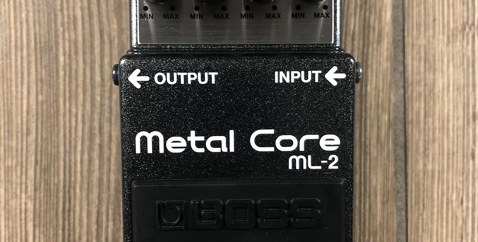 Boss ML2 Metal Core Pedal