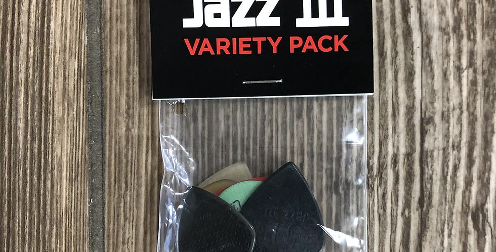 Dunlop Jazz III Variety Pack