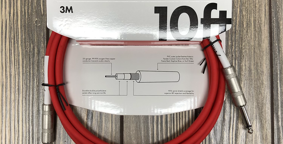 Fender 10' Instrument Cable