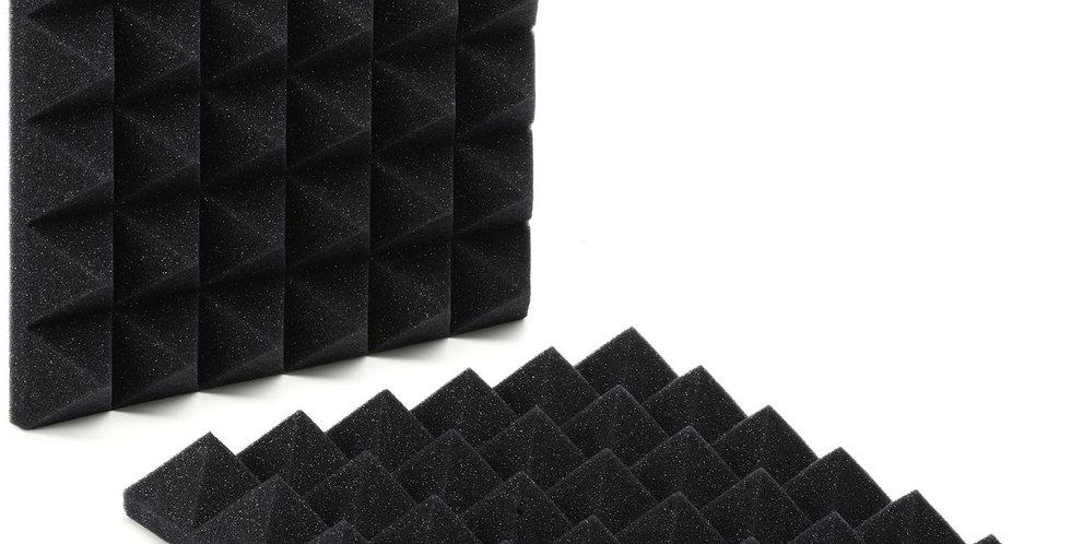 Gator Acoustic Foam Pyramid Panels 2 Pack