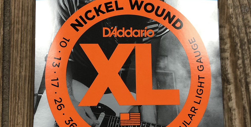 D'addario XL Electric Guitar Strings