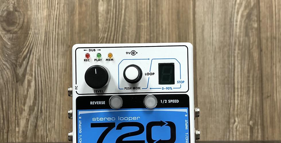 EHX Nano Looper 720 w/ power supply