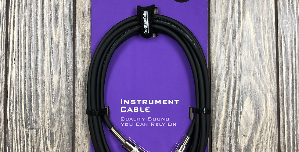 On Stage 10' Instrument Cable