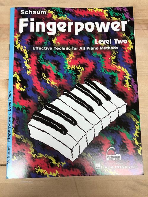 Schaum Fingerpower Piano Book