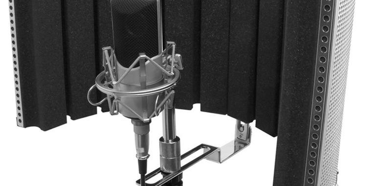 Isolation Shield for Mic