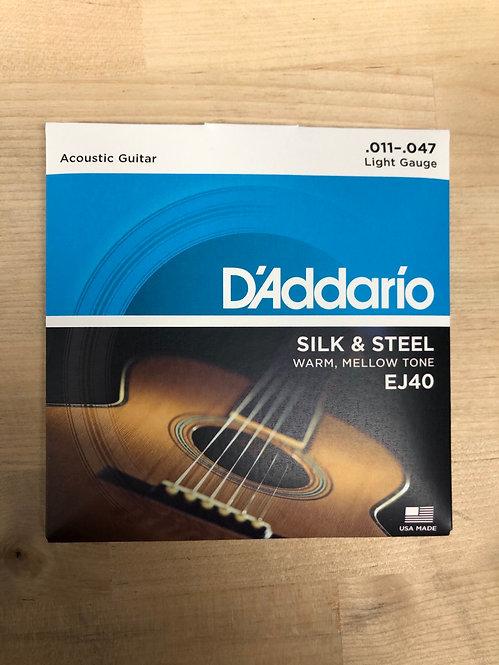 D'addario Silk & Steels