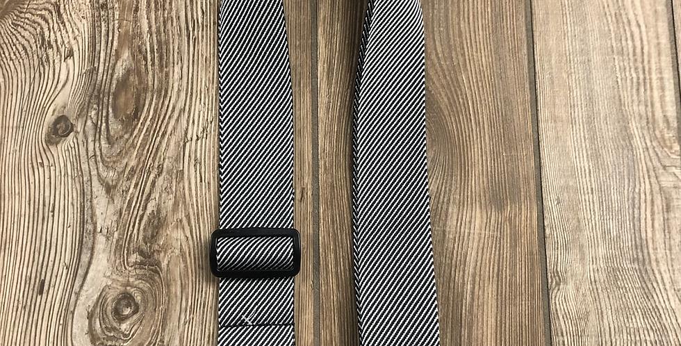 Fender Tweed Strap, Silver