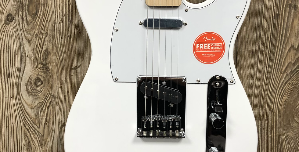 Squier Affinity Tele, MN Wh