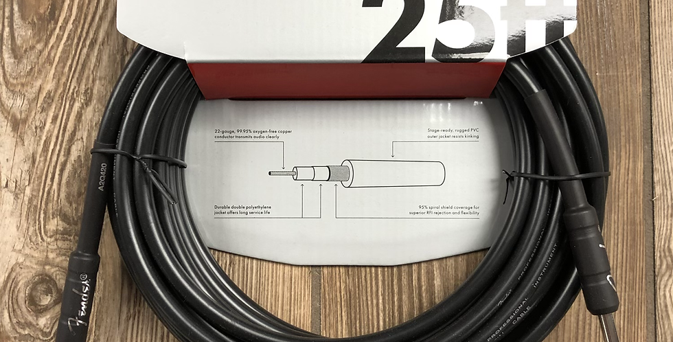Fender 25' Instrument Cable