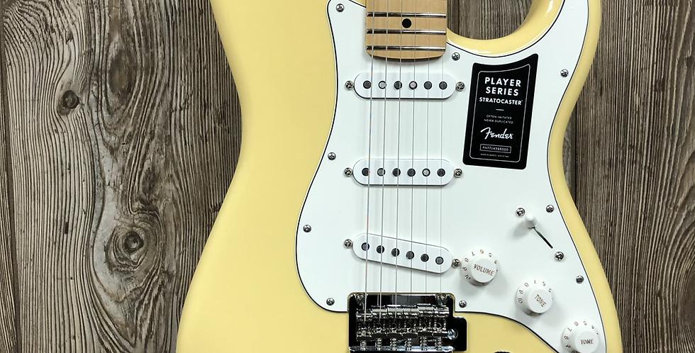 Fender Player Strat, MN, Buttercream