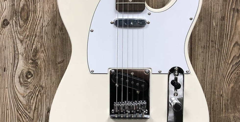 Squier Affinity Tele, LRL Olympic White