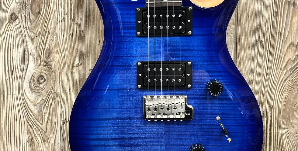 PRS SE Custom 24 Faded Blue Burst w/bag