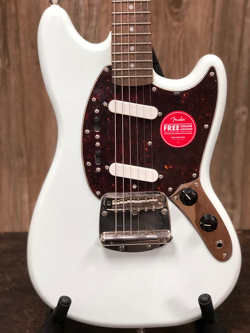 Squier Classic Vibe 60's Mustang LRL Sonic Blue