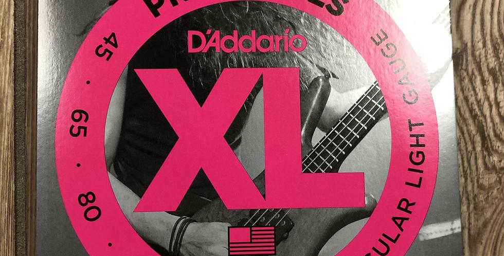 D'addario Pro Steel Bass Strings