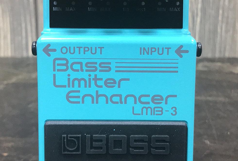 Boss LMB3 Bass Limiter Enhancer Pedal