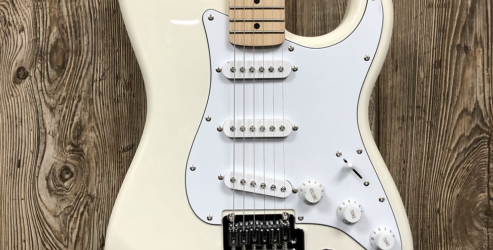 Squier Affinity Strat, MN Olympic White