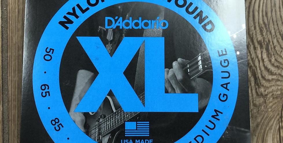 D'addario Nylon Tapewound Bass Strings