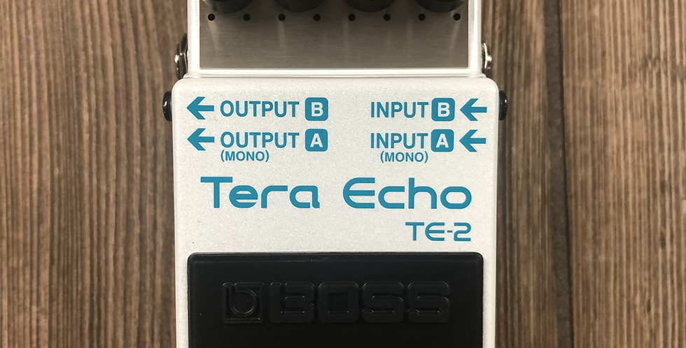 Boss TE2 Tera Echo Pedal