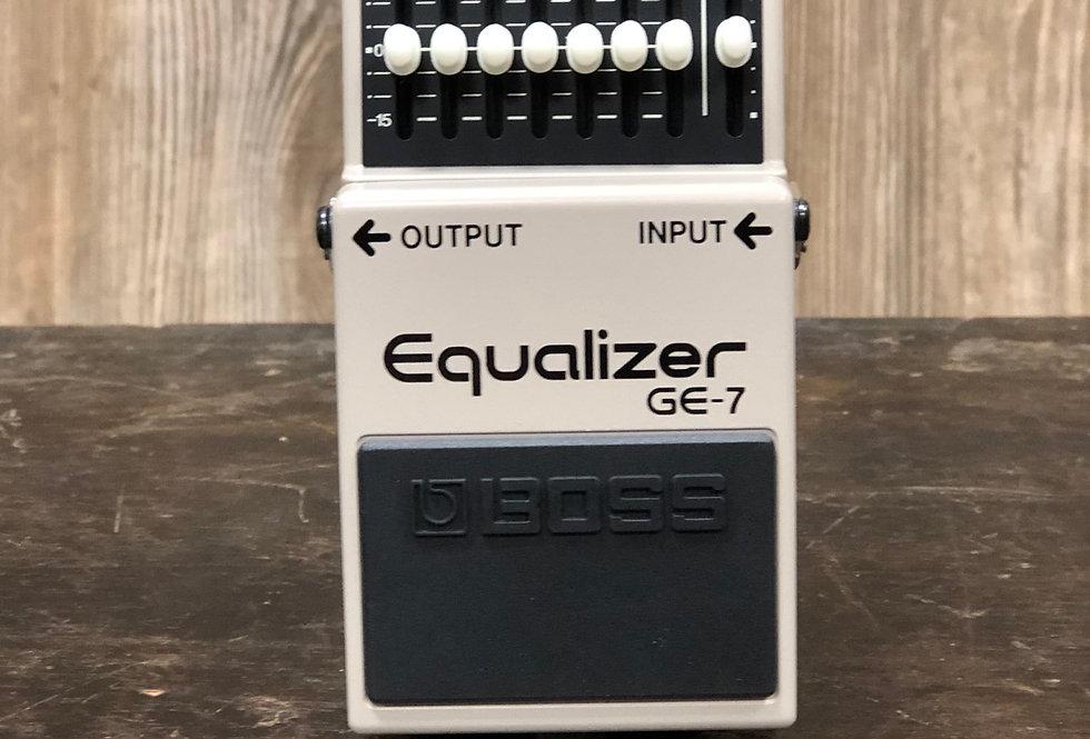 Boss GE-7 EQ Pedal