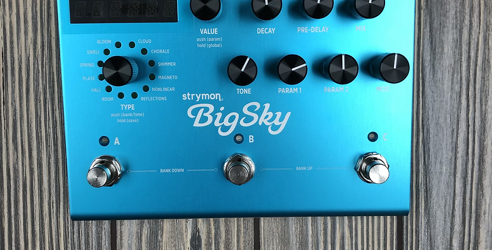 Strymon Big Sky Pedal