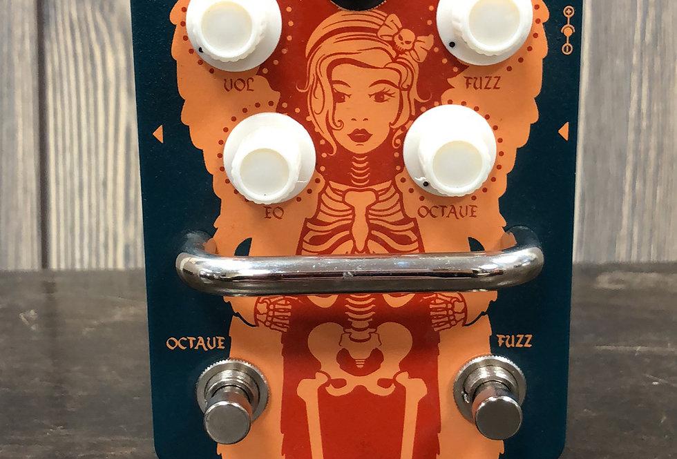 Orange Fur Coat Octave Fuzz Pedal
