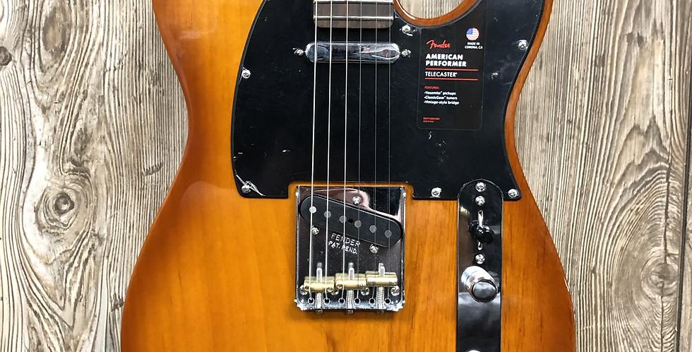 Fender AM Perf Tele, Honeyburst