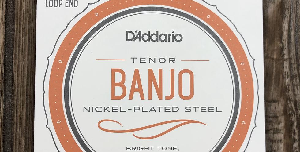 D'addario Tenor Banjo Strings