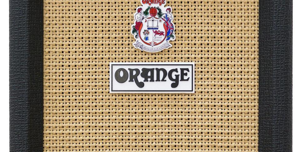 """Orange 8"""" Cab (Black)"""