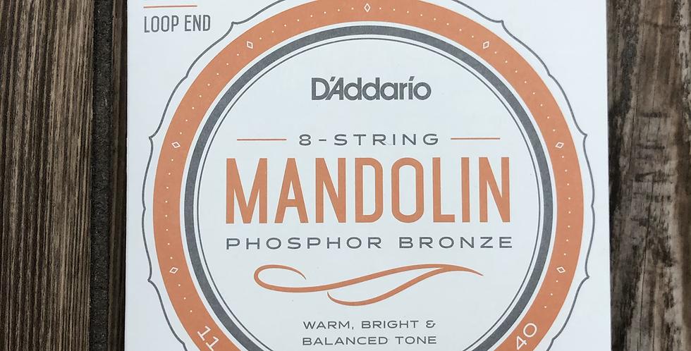 D'addario Phos/Bronze Mandolin Strings