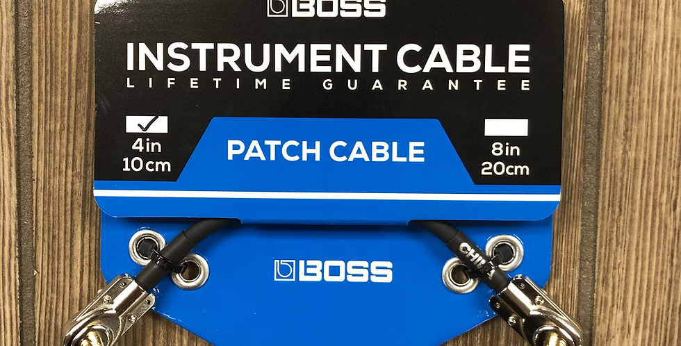 """Boss 4"""" Patch Cable"""