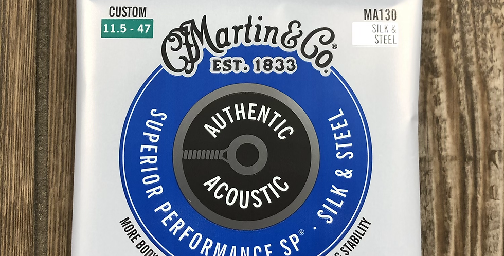 Martin Silk & Steel Acoustic Guitar Strings