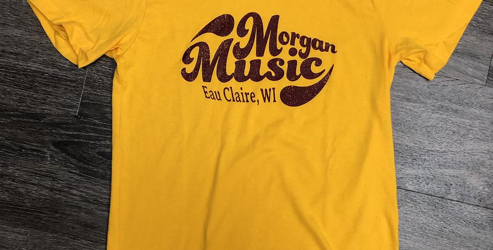 """Morgan Music """"retro"""" T-Shirt"""