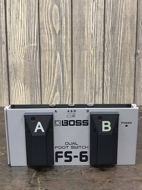 Boss FS6 Foot Switch